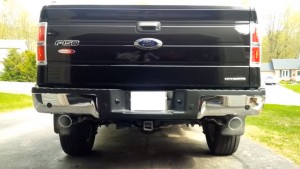 ford f150cat back exhaust dual exit