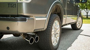 ford f150 cat back exhaust single side exit