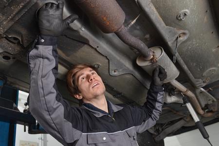 Exhaust System Repair Shop
