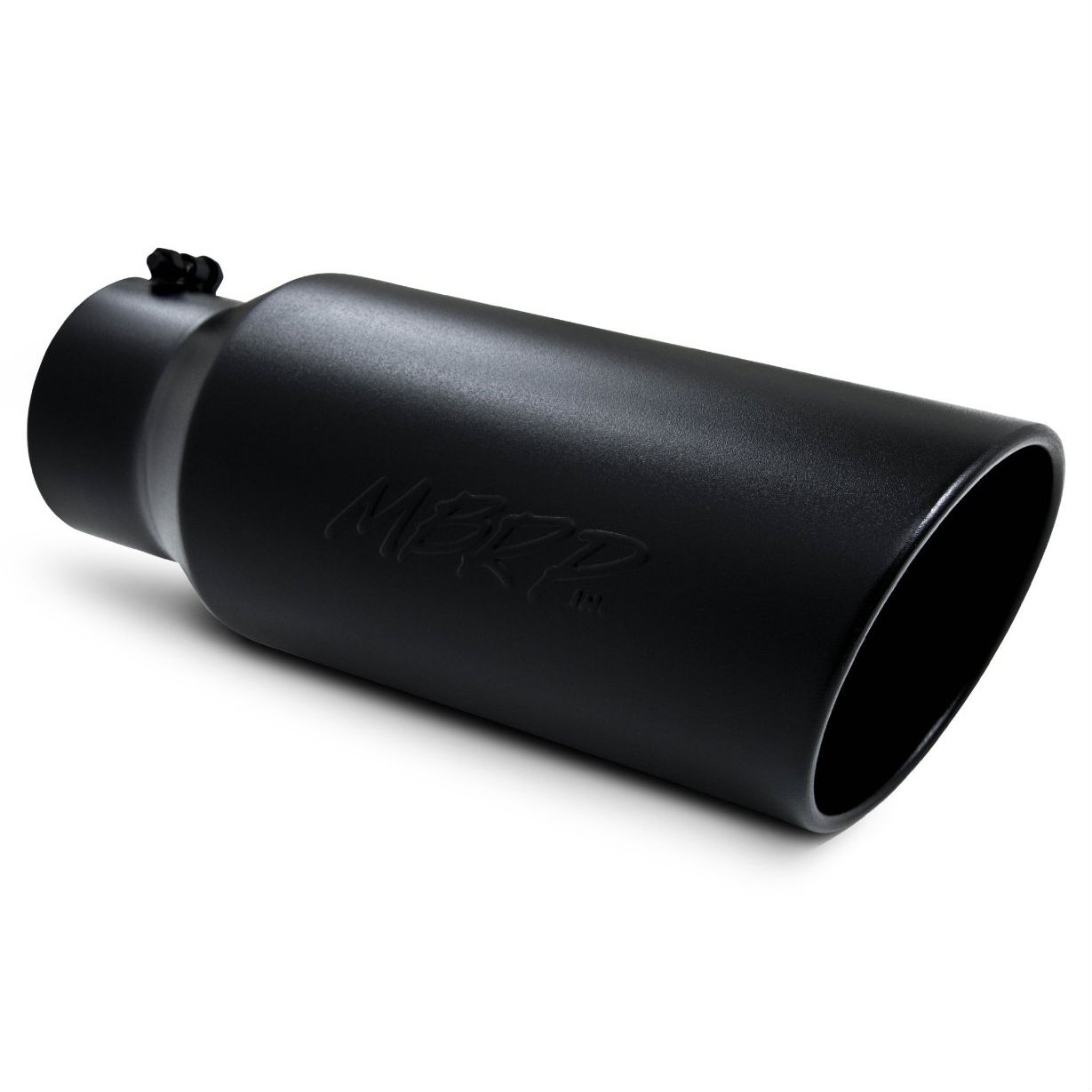 Mbrp T Blk Exhaust Tips on Cold Air Intake Systems