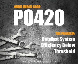 P0420 OBD-II Trouble Code: Problems with Your Catalytic
